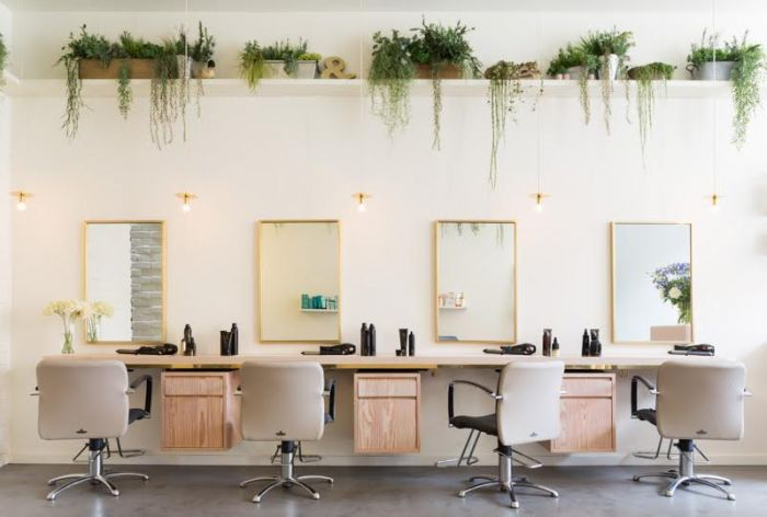 Frank and Faber – Aer Blowdry Bar, Kensington