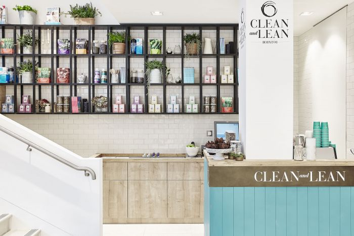 Frank and Faber – Clean & Lean Café, Fenwick Bond Street
